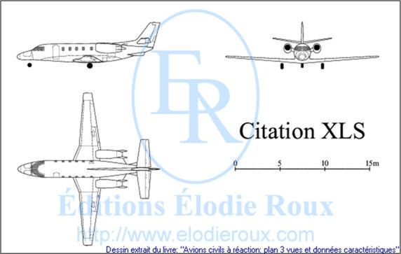 Copyright: Elodie Roux/CitationXLS 3-view drawing/plan 3 vues