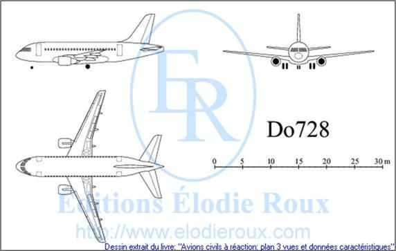 Copyright: Elodie Roux/Do728 3-view drawing/plan 3 vues
