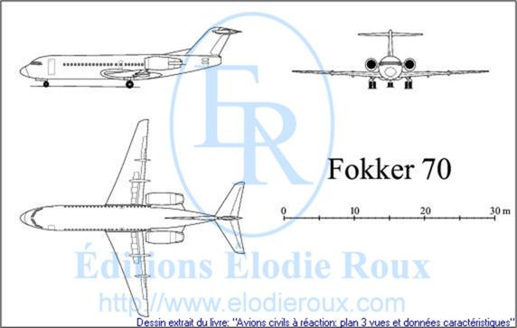 aircraft three view drawings