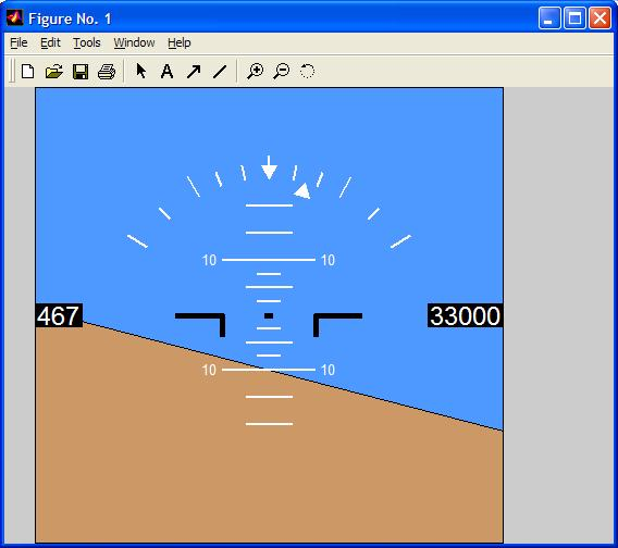 how to read artificial horizon
